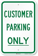 Best parking for customers only signs Reviews