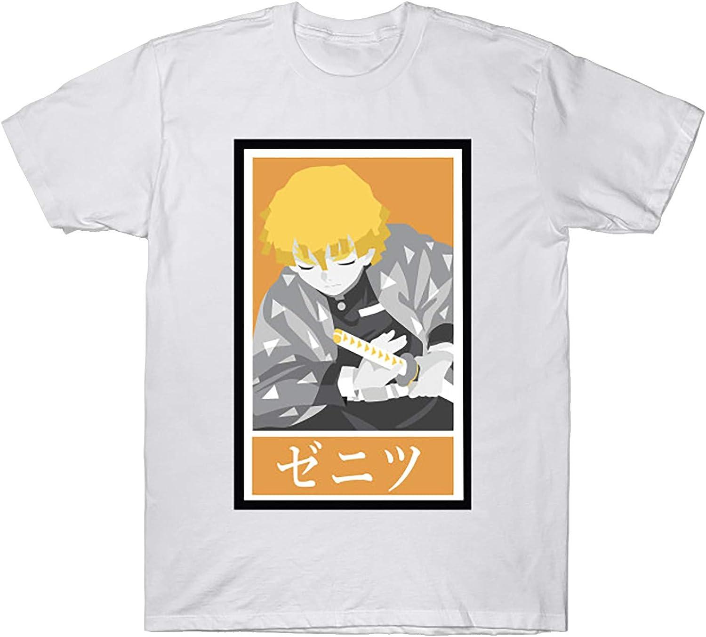 Popular standard Demon Slayer-Kimetsu no Yaiba Zenitsu Rapid rise T Agatsuma Hoodie T-Shirt