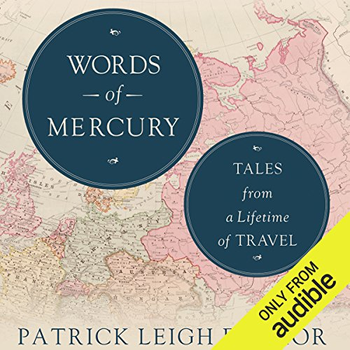 Words of Mercury audiobook cover art