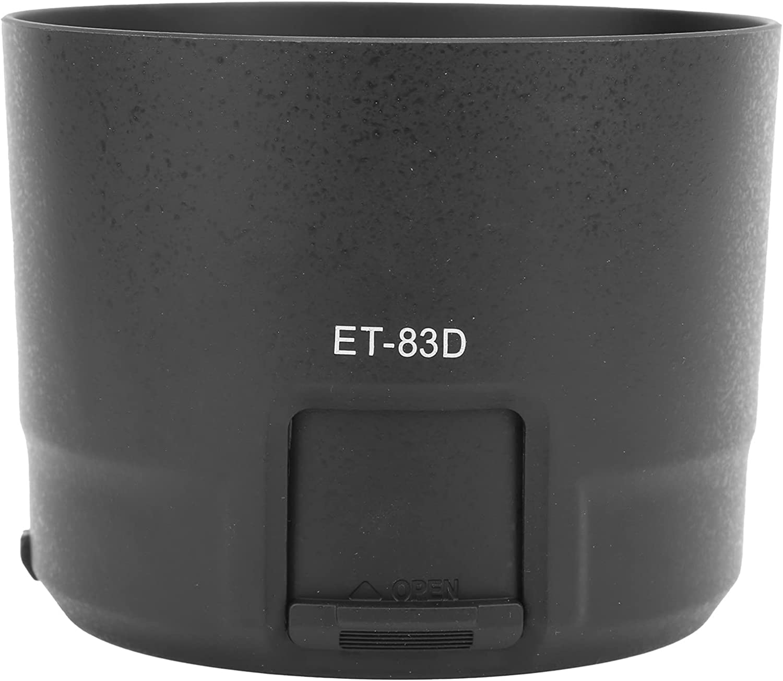 PUSOKEI ET‑83D Luxury goods Camera Lens Hoods Hood in ABS Replacement Spasm price