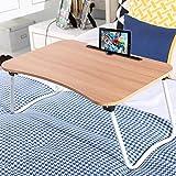 YANGSANJIN Table Bed Desk, Folding, Laptop,Computer Desk, Bedroom Small (C,)