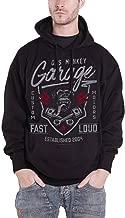 Gas Monkey Garage Hoodie Fast N Loud GMG Logo Official Mens Black Pullover