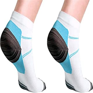 Foot Compression Socks Plantar Fasciitis Foot Pain Relief Sleeves Heel Ankle Sox Foot Compression Socks Heel Arch Pain Rel...