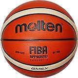Molten BGMX - Balón de Baloncesto Senior femenino, Naranja y Marrón claro, Talla 6