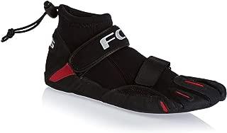 FCS SP2 Split Toe Reef Bootie - Black/Red