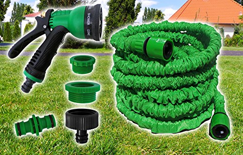 Plantiflex Flexi Schlauch Flexibler Gartenschlauch Flexschlauch Schlauch Magic Wonder 100FT/30m