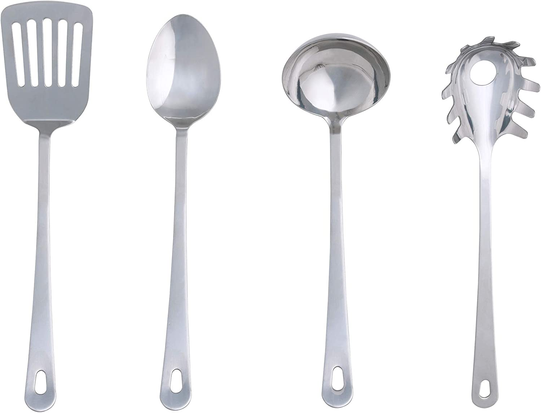 "Ikea Utensil Set, 12.12""x 12""x 12"", Silver"