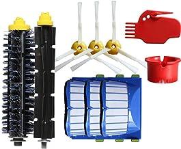 12 stücke Ersatzteil für Staubsauger,Ewendy Bürsten Filter für iRobot Roomba 600 610 620 630 640 650 660 670 680 series Va...