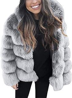 buy online d7c98 9a902 Amazon.it: pelliccia ecologica: Abbigliamento