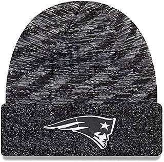 New Era New England Patriots Beanie NFL 2018 TD Knit Cap Black Adult One Size
