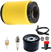 LEIMO 796031 Air Filter with Fuel Pump Oil Filter Tune Up Kit for Briggs & Stratton 591334 594201 5428 5421 797704 310000 Engine