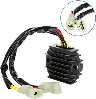 SCITOO Regulator Rectifier 32800-44D20 32800-44D21 Replacement Voltage Regulator Rectifier Fit for 2003-2007 Polaris Predator 500 2000-2001 Suzuki Quadmaster 500 2000-2002 Suzuki Quadrunner 500