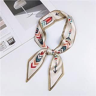 Fashion Hair Scarf For Women Animal Print Headband Silk Neck Scarfs Female Robbons Wrist Skinny Scarves For Ladies W51722 One Size
