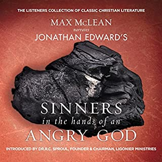 Jonathan Edward's Sinners in the Hands of an Angry God cover art