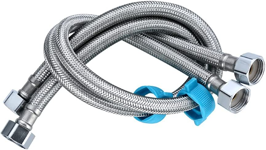ALYHYB Pack of 2 Flexible Pipe Hose Ranking TOP10 At the price surprise for Braided Stainless Steel