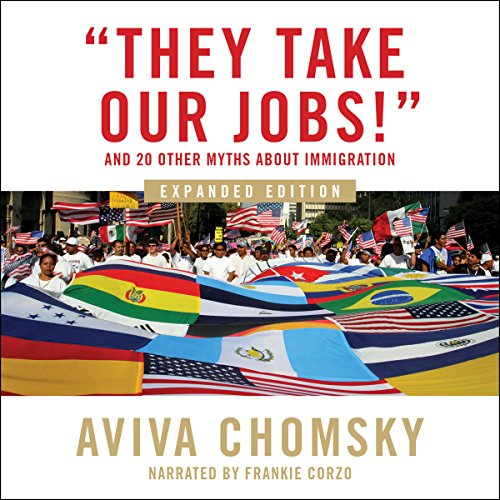 """They Take Our Jobs!"" audiobook cover art"