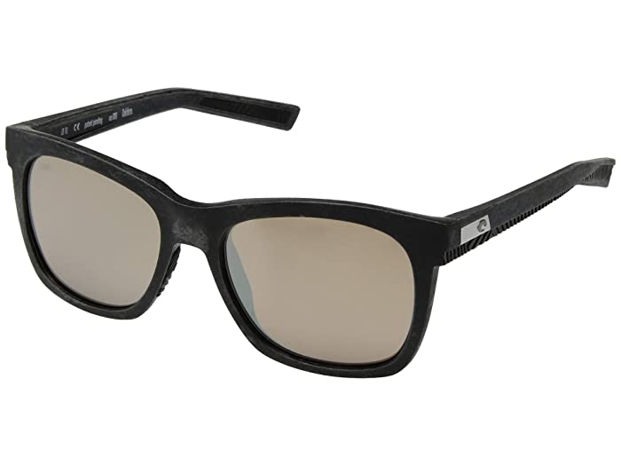 Costa  Caldera (Net Gray/Blue Rubber Copper Silver 580G) Athletic Performance Sport Sunglasses