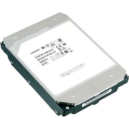 "TOSHIBA 東芝 3.5"" 内蔵HDD 14TB(CMR) 7,200rpm SATA 24x7 RVセンサー搭載 ヘリウム充填HDD NASに最適ハードディスク 国内正規品 3年保証 国内サポート対応 故障時の同時交換対応 MN08ACA14T/JP"