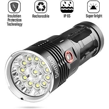 Wasserdicht Taschenlampe XPE 82*16mm Zoomable Lampe Licht Langlebig Neu