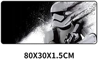 Alfombrilla De Ratón 80X30Cm Alfombrilla De Ratón Para Juegos Star Wars Xxl Alfombrilla De Ratón Grande Xl Alfombrilla De Escritorio De Goma Gamer