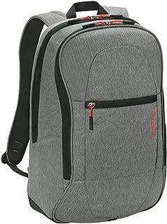 Targus 泰格斯 中性 笔记本电脑包休闲双肩背包 TSB89604AP 银灰色 15.6英寸 34×20×50cm