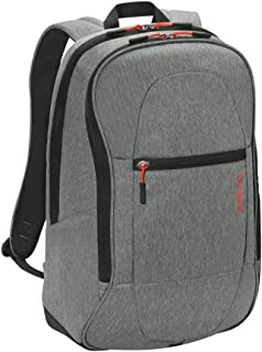 Targus Urban Travel and Work Commuter Laptop Backpack with Protective Sleeve for 15.6-Inch Laptop Backpack, Gray (TSB89604US)