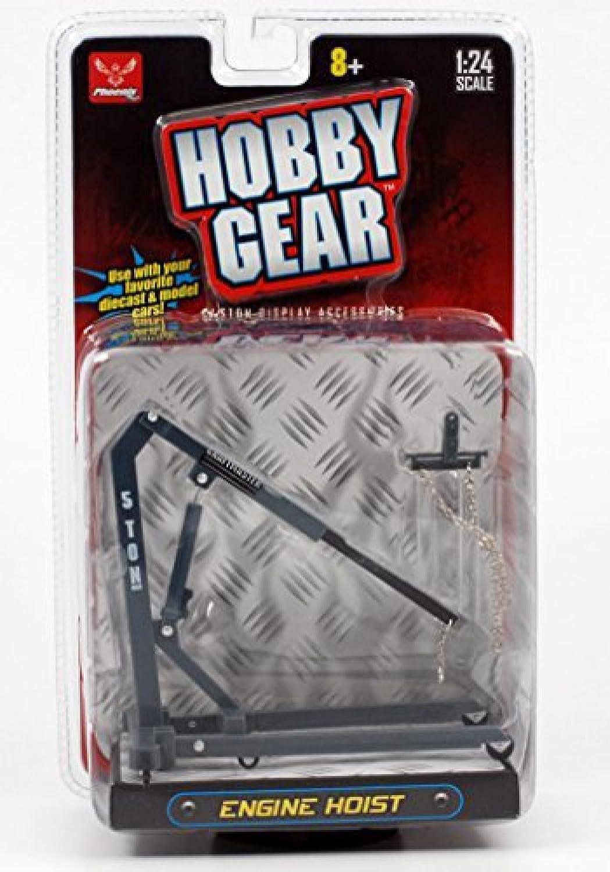 Hobby Gear Series  Engine Hoist 1 24 Scale (Grey)