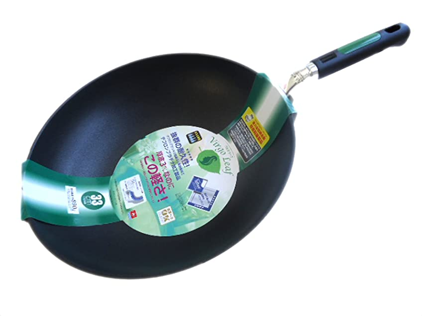 銀尾環境に優しいフライパン バルゴリーフ 炒め鍋 33cm ガス火専用