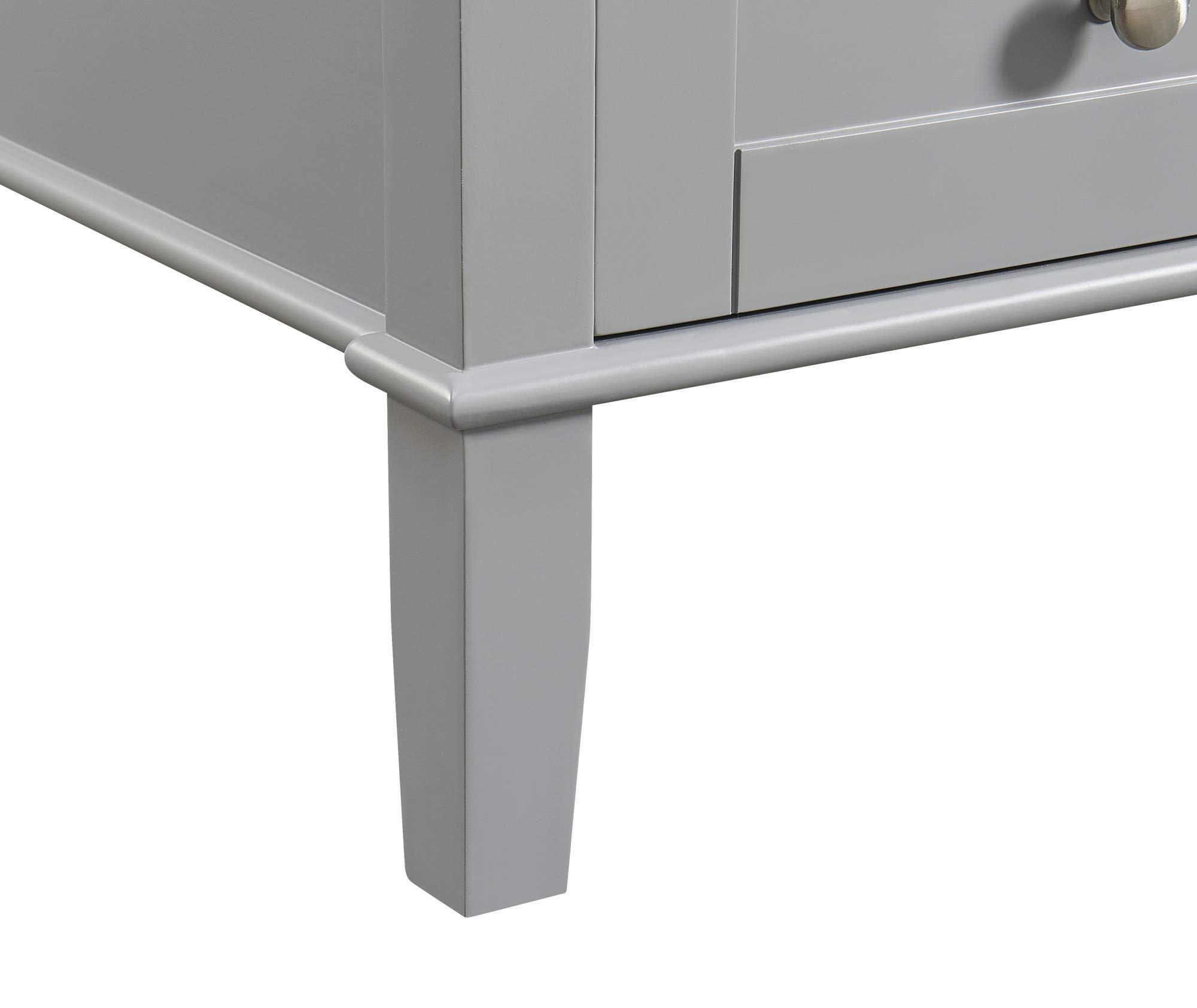 Elegant Decor 21 In Single Bathroom Vanity Set In Grey