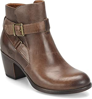boc leather booties