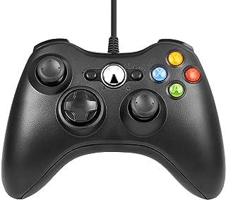 Xbox 360 Mando de Gamepad, Mando PC, Mando Xbox 360 con Vibración, Controlador de Gamepad para Xbox 360 Mando para PC Wind...