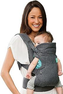 【 アメリカで1番売れている 】 抱っこ紐 抱っこひも だっこひも コンパクト おんぶ紐 新生児 前向き 軽量 収納 簡単 ベビーキャリア おんぶひも 出産祝い 人気 za036-gray