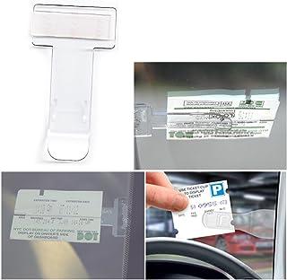 AMGOMH Lot de 10/Ticket de stationnement pour Personne handicap/ée Van Films adh/ésifs et Note Support pour Pare-Brise de Voiture Caravane