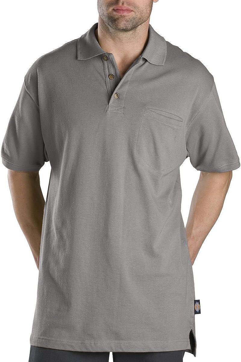 Dickies Men's Dedication Big Short-Sleeve sold out Mini-Pique Shirt Polo