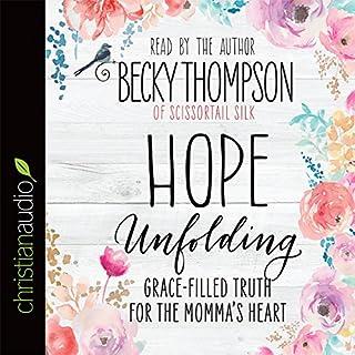 Hope Unfolding audiobook cover art