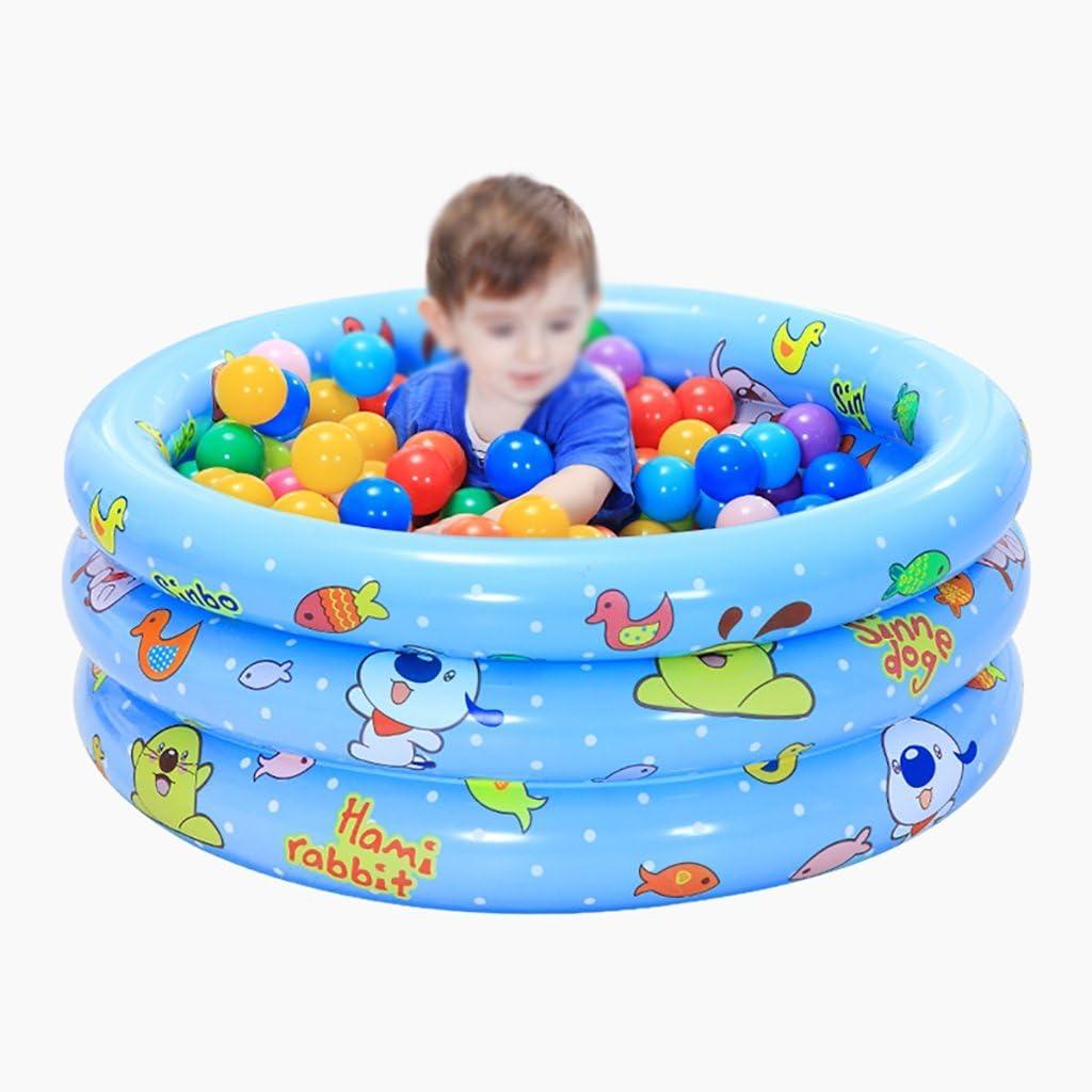 YUGANG Bañera Inflable Bañera Inflable bebé Piscina casa Adultos Piscina para niños niños bañera bebé niños Piscina para niños 100cm (Color : A)