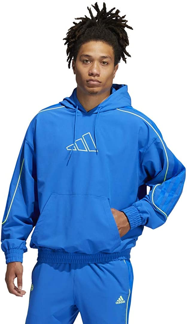 adidas Men's Harden Hoodie Cross-up Large special OFFicial price