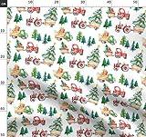 Wald, Winter, Urlaub, Parade, Weihnachtsbaum, Weihnachten,