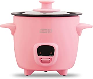 Dash DRCM200GBPK04 Mini Rice Cooker Steamer with Removable Nonstick Pot, Keep Warm..