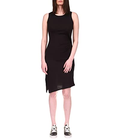 MICHAEL Michael Kors Petite Solid Crew Neck Drape Dress
