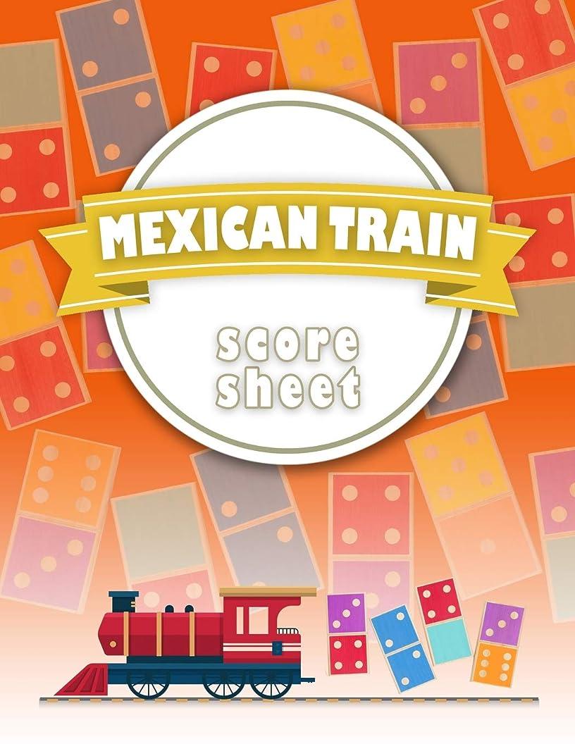 インドオープニング追うMexican Train Score Sheet: Chicken Foot & Mexican Train Dominoes Accessories, Mexican Train Score Pads, Chicken Sheets