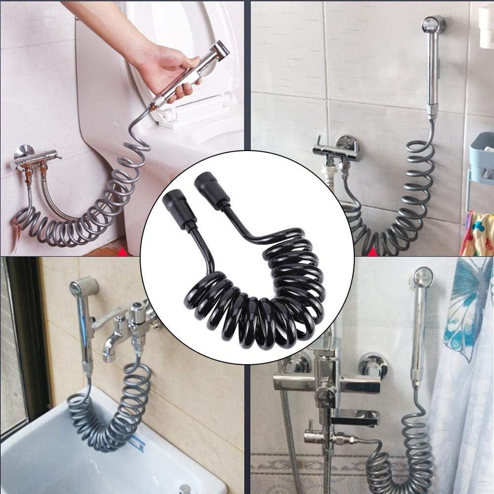 Fdit Black Household Bathroom Toilet PU Bidet Super sale S Over item handling Handheld Sprayer