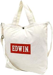 [エドウィン] ショルダーバッグ ボックスロゴ 2way トートバッグ