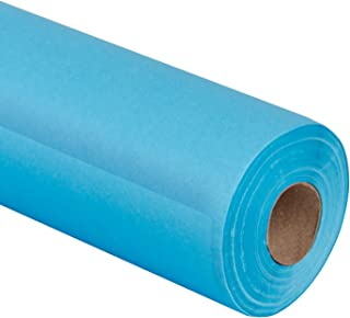 RUSPEPA Sky Blue Kraft Paper Roll - 30 inch x 100 Feet - Recycled Paper Perfect for for Crafts, Art, Gift Wrapping, Packing, Postal, Shipping, Dunnage, Parcel