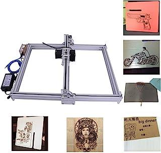 DIY CNC Engraver Kits Wood Carving Engraving Cutting Machine Desktop Printer Logo Picture Marking, 40x50cm,2 Axis (500MW)