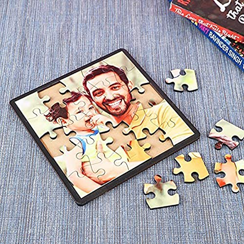 Giftsvalla Personalised Puzzle Frame Gifts for Couple, Men, Women, Boy, Girl, Gift for Husband, Brother, Sister, Birthdays, Wife, Anniversary, Corporate & All Occassions (7x5 inches)