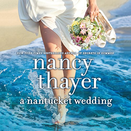 A Nantucket Wedding audiobook cover art