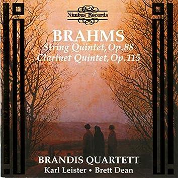 Brahms: String & Clarinet Quintet