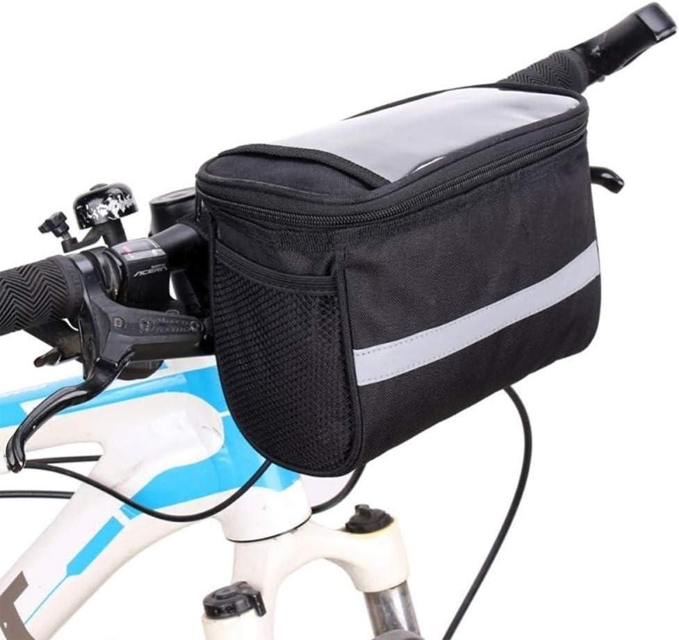 Bicycle Bags Durable In Popular brand stock Waterproof Tube Handlebar Bag Bike F Canvas
