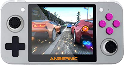DREAMHAX RG350 Handheld Game Console with 3.5 Inch IPS Screen Preload 10000 Games..